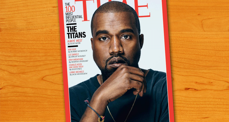 Kanye West among 100 Most Influential People