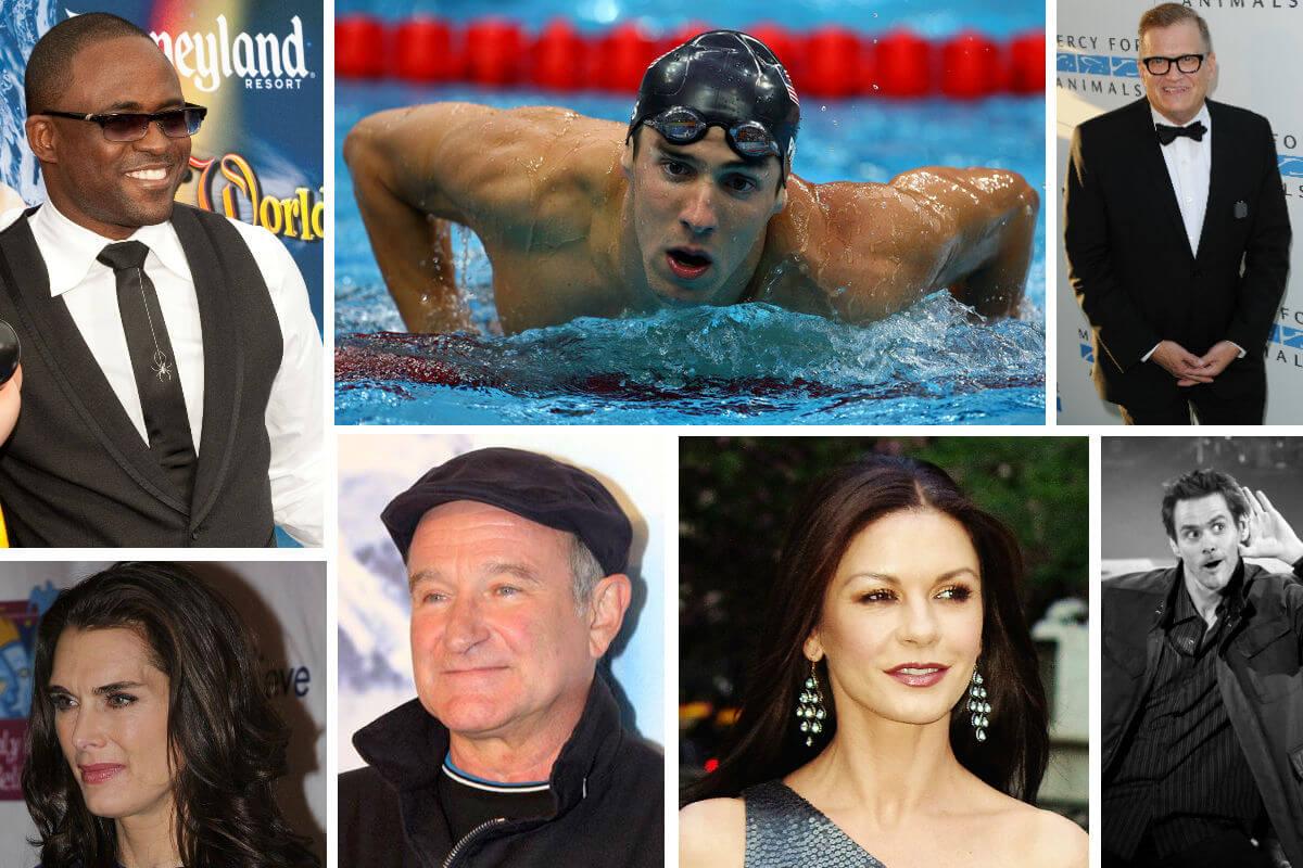 Celebrities with mental illness