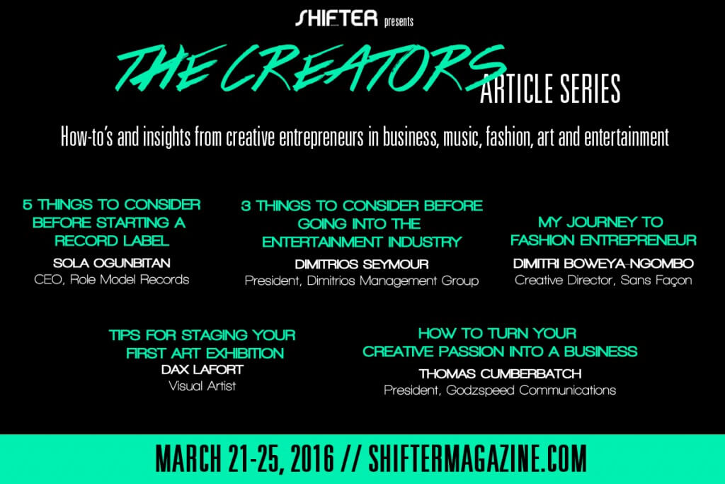The Creators Article Series