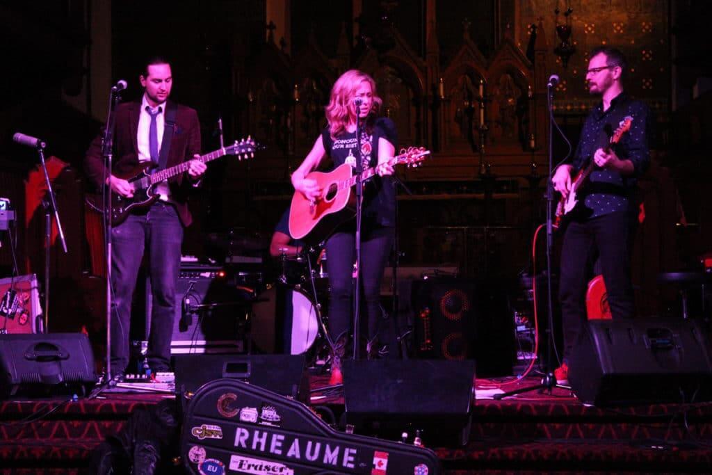 Amanda Rheaume performs at JUNOfest
