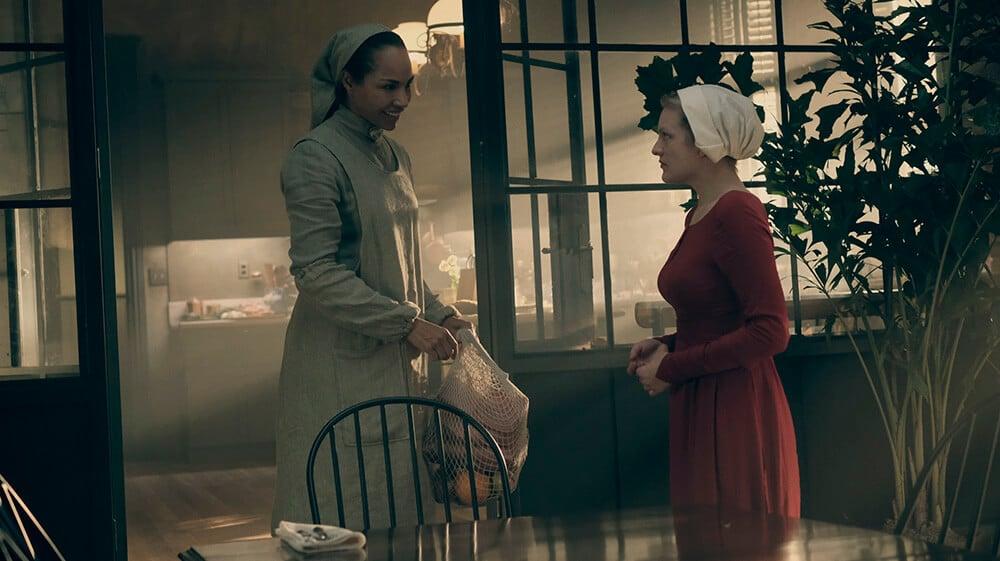 Amanda Brugel in The Handmaid's Tale