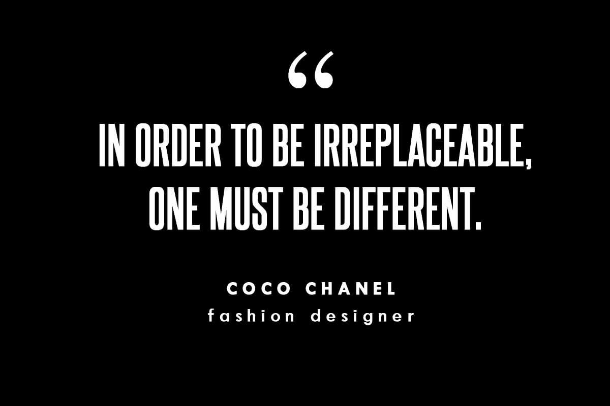 featured quote coco chanel fashion designer shifter magazine