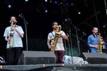 Souljazz Orchestra at Bluesfest