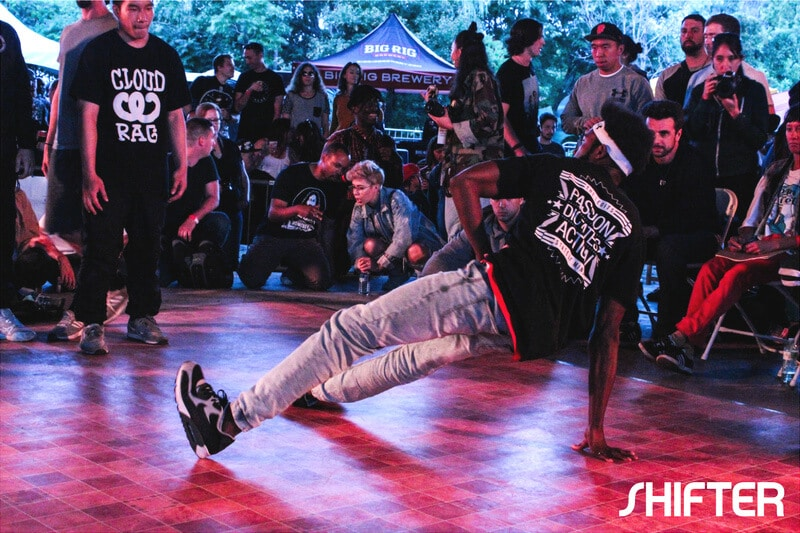 Bboy crew battle at House of Paint