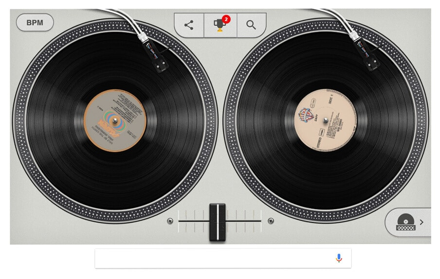 Hip hop Google Doodle
