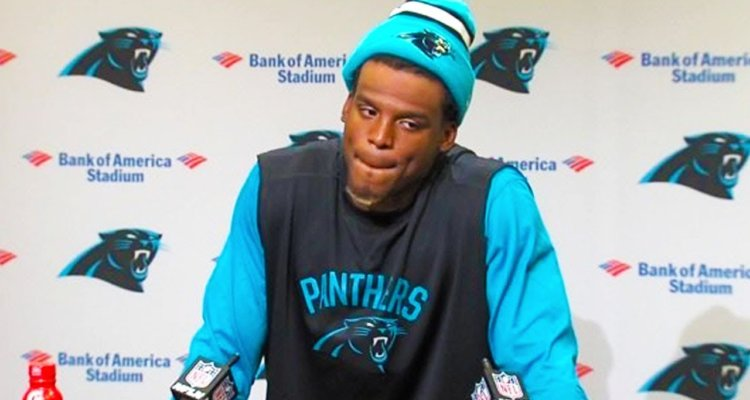 Cam Newton press conference