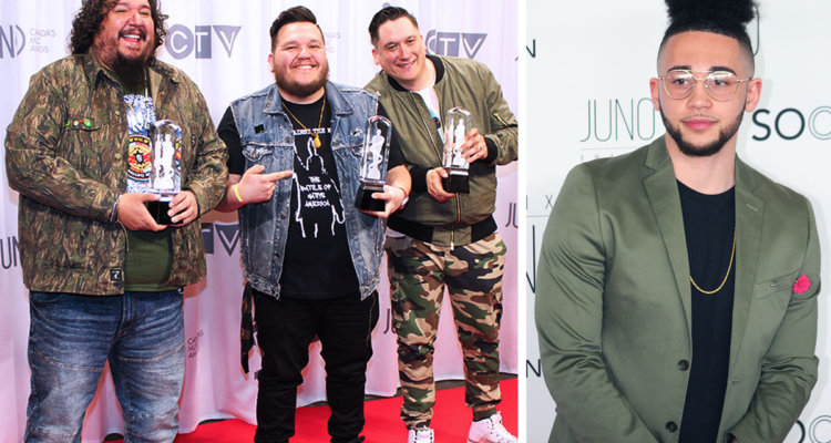 Capital Music Awards A Tribe Called Red Maurice Moore