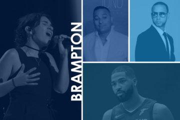 celebrities come from Brampton