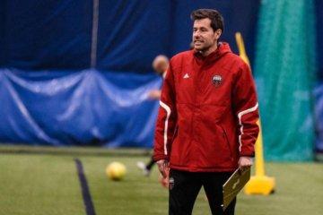 Ottawa Fury FC coach Nikola Popovic