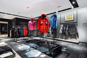 canada goose store at cf rideau centre
