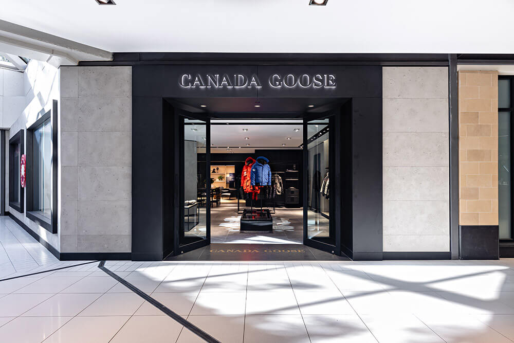 canada goose store at cf rideau centre