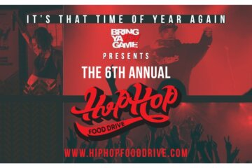 hip-hop food drive